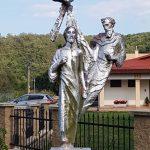 Szobor – Szentháromság, Szklabonya [Sklabiná]