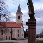Római katolikus templom – Szent Vendel, Keszegfalva [Kameničná]