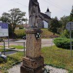 Szobor – Nepomuki Szent János, Hontvarsány [Kalinčiakovo]