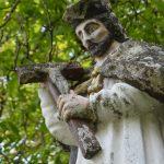 Szobor – Nepomuki Szent János, Izsa [Iža]