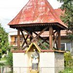 Harangláb és szobor – Nepomuki Szent János, Hontrákóc [Rakovec]
