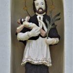 Képoszlop, szobor – Nepomuki Szent János, Kisvárad [Nitriansky Hrádok]