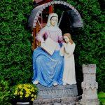 Szobor – Szent Anna a gyermek Máriával, Geletnek [Hliník nad Hronom]