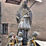 Szobor – Nepomuki Szent János, Körmöcbánya [Kremnica]
