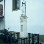 Szobor – Szeplőtelen Szűz Mária – Albár [Dolný Bar]