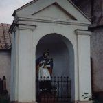 Mezei oltár, szobor – Nepomuki Szent János  – Nagyida [Veľká Ida]