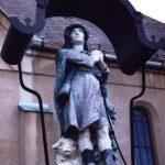 Szobor – Szent Vendel, Nagycsalomja [Veľká Čalomija]