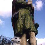 Szobor – Szent Vendel  – Köbölkút [Gbelce]