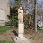 Szobor – Nepomuki Szent János  – Ipolyság [Šahy]