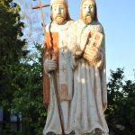 Szobor – Szent Cirill és Metód – Nyitraszőllős [Vinodol]