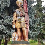 Szobor –  Szent Flórián – Egeg [Hokovce]
