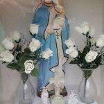 Szoborfülkés képoszlop – Szűz Mária – Egeg [Hokovce]